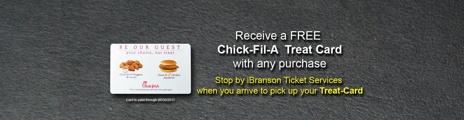 Chick-fil-A Promo Special Offer