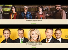 One of America's <br/> Premier Southern Gospel Events just took place