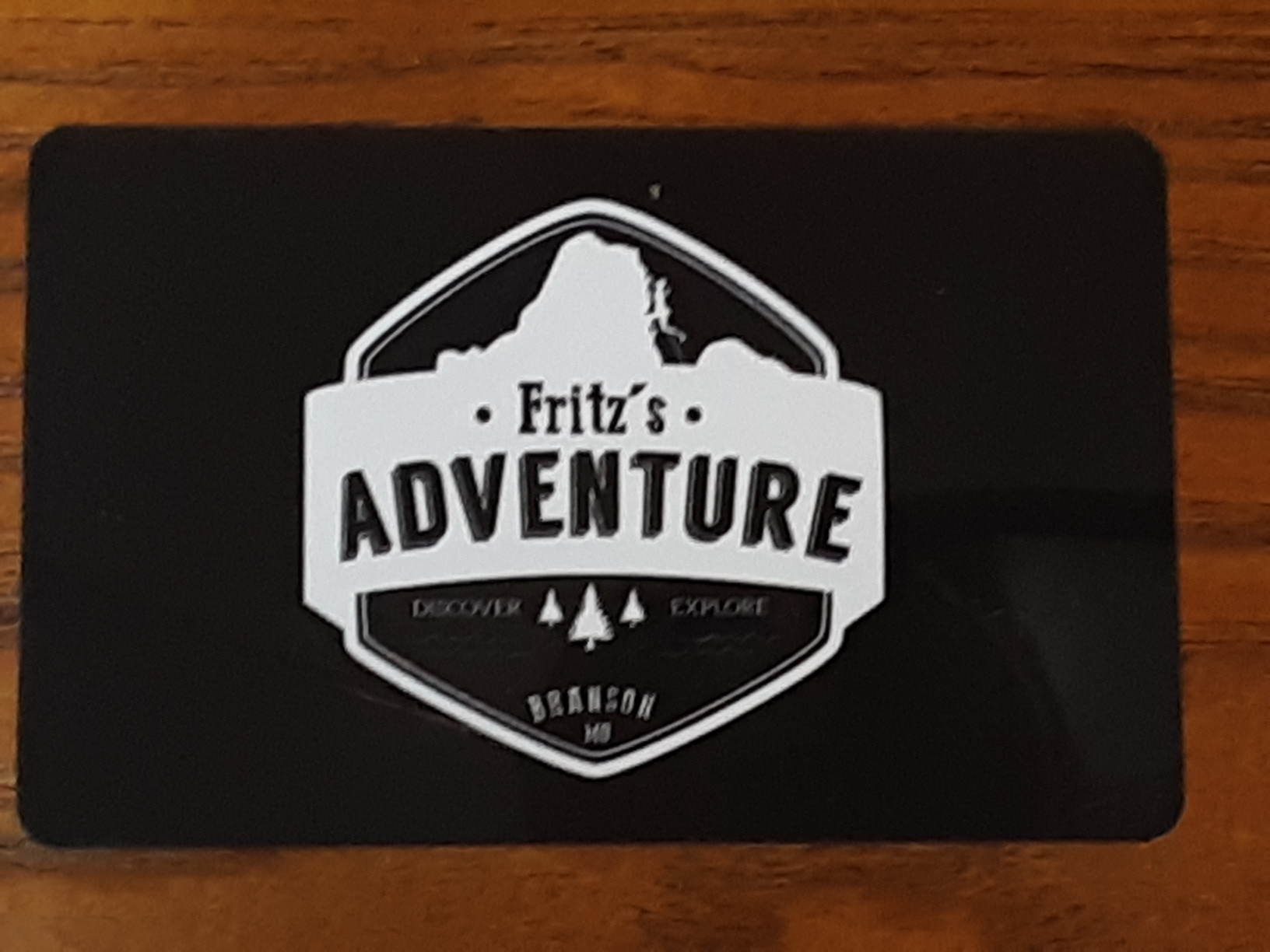 Fritz's Adventure Branson Missouri gift card