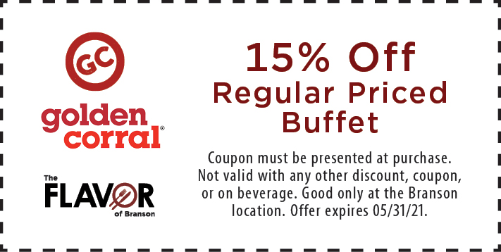 Coupon for Golden Corral