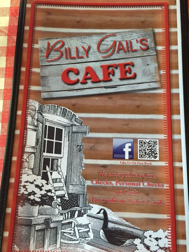 Billy Gail's Cafe